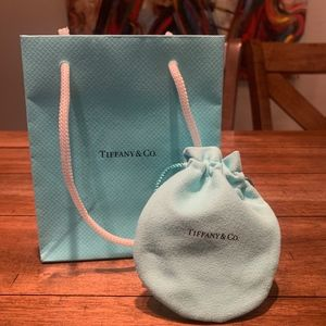 Tiffany & Co Shopping Bag & Dust Bag